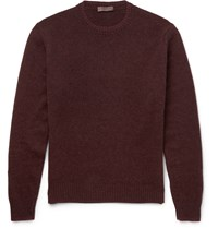 Etro Lambswool Sweater Burgundy