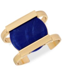 Inc International Concepts M. Haskell For Gold Tone Circle Resin Cuff Bracelet Only At Macy's