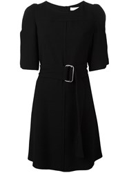 See By Chloe Belted Shirt Dress Black