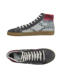 Springa Footwear High Tops And Trainers Men Grey