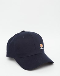 Ellesse All Over Logo Baseball Cap Blue