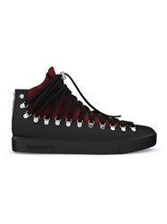 Swear Exclusive Calf Leather Nappa Leather Suede Rubber Black