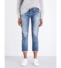Citizens Of Humanity Emerson Classic Fit Cropped Stretch Denim Jeans Roseland