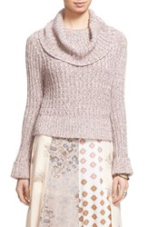 Women's Free People 'Twisted Cable' Turtleneck Sweater