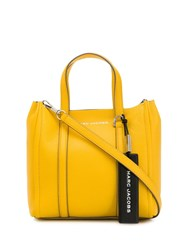 Marc Jacobs Engraved Logo Tote Yellow