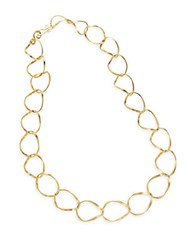 Stephanie Kantis Chancellor Chain Necklace Gold