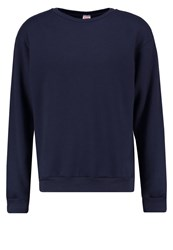 American Apparel Sweatshirt Navy Dark Blue