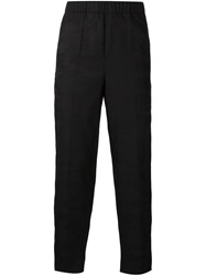 Neil Barrett Camouflage Jacquard Trousers Black