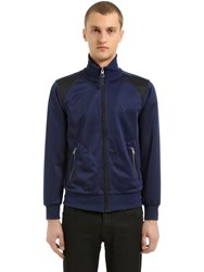 Coach T Rex Embroidered Techno Track Jacket Navy