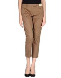 Monocrom 3 4 Length Shorts Khaki