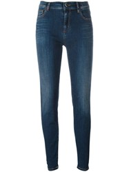 Twin Set Heart Pocket Jeans Blue