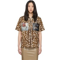 Burberry Brown Bambi Shirt