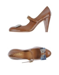 Maloles Pumps Camel