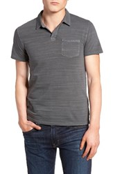 Lucky Brand Men's Johnny Collar Polo Raven