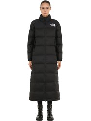 The North Face Nuptse Duster Long Down Jacket Black