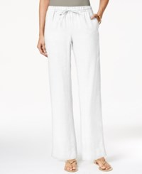 Charter Club Petite Drawstring Waist Pull On Pants Only At Macy's