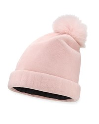Yestadt Millinery Bunnie Structured Felt Beanie Pink