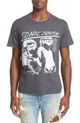 R 13 Men's R13 Sonic Youth Graphic T Shirt