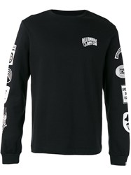 Billionaire Boys Club Aviation Print Sweatshirt Black