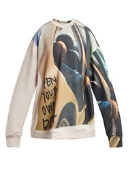 Marques Almeida Printed Sweatshirt Multi
