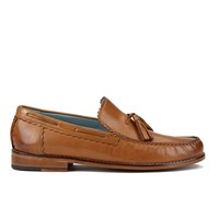 Genuine Moccasins By Grenson Men's Tassle Loafers Tan