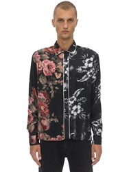 Represent Dinner Printed Viscose Shirt Multicolor