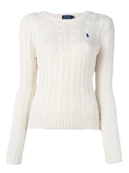 Polo Ralph Lauren 'Julianna' Sweater White