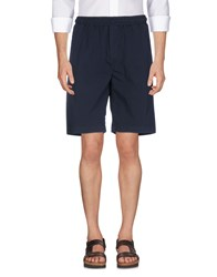 Low Brand Bermudas Dark Blue