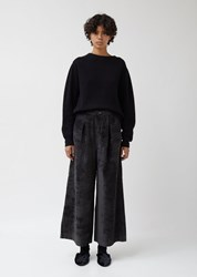 Antipast Woven Trousers Charcoal