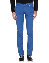 Jacob Cohen Jacob Coh N Trousers Casual Trousers Men Blue