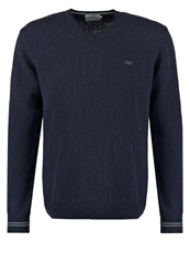 New Man Kilian Jumper Navy Dark Blue
