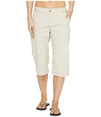 Woolrich Vista Point Eco Rich Convertible Knee Pants Stone Women's Casual Pants White
