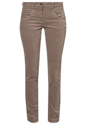 Tom Tailor Alexa Trousers Blush Grey Taupe