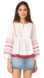 Club Monaco Goronah Top Pure White