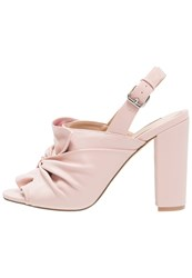 Miss Selfridge Luna High Heeled Sandals Pink Rose