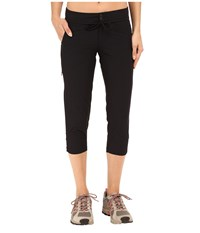 Mountain Hardwear Yuma Capris Black Women's Capri