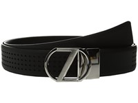 Z Zegna Adjustable Reversible Bgomc1 35Mm Belt Black Men's Belts