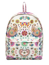 Manish Arora Embellished And Printed Leather Backpack