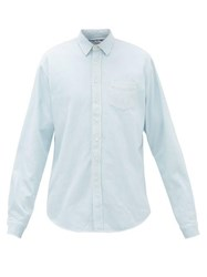 Schnayderman's Washed Denim Shirt Light Blue