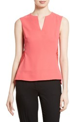 Ted Baker Women's London Sasica Lace Back Shell Coral