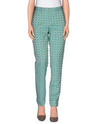 Pt0w Trousers Casual Trousers Women Turquoise