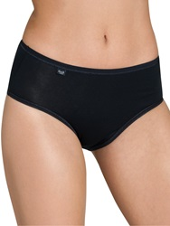 Sloggi Evernew Midi Briefs Black