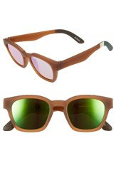 Toms Men's Bowery 51Mm Sunglasses Umber