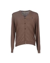 Brooksfield Knitwear Cardigans Men Khaki