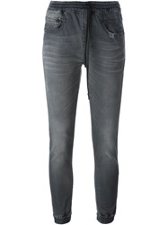 R 13 R13 Distressed Jogger Jeans Grey