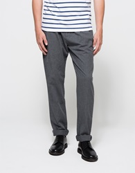 Shades Of Grey Pleated Pants Grey Flannel