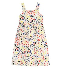 Bonpoint Laly Printed Cotton Dress Multicoloured