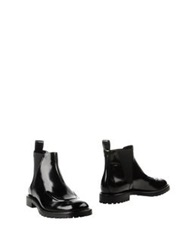 Viktor And Rolf Ankle Boots Black
