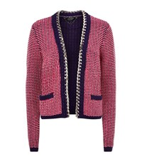 Juicy Couture Chain Trim Cardigan Female