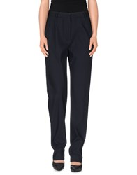 Max Mara Trousers Casual Trousers Women Dark Blue